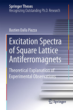 Piazza, Bastien Dalla - Excitation Spectra of Square Lattice Antiferromagnets, ebook
