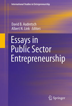 Audretsch, David B. - Essays in Public Sector Entrepreneurship, e-kirja