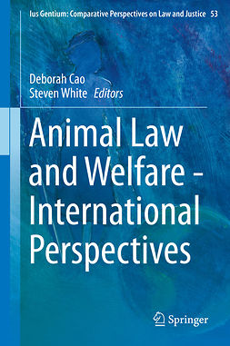 Cao, Deborah - Animal Law and Welfare - International Perspectives, ebook
