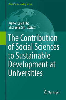 Filho, Walter Leal - The Contribution of Social Sciences to Sustainable Development at Universities, e-bok