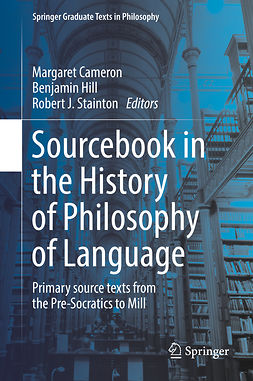 Cameron, Margaret - Sourcebook in the History of Philosophy of Language, e-kirja