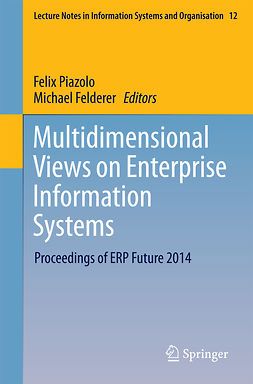 Felderer, Michael - Multidimensional Views on Enterprise Information Systems, ebook