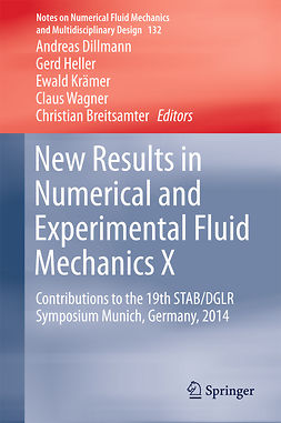 Breitsamter, Christian - New Results in Numerical and Experimental Fluid Mechanics X, e-kirja