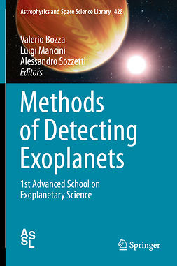Bozza, Valerio - Methods of Detecting Exoplanets, ebook