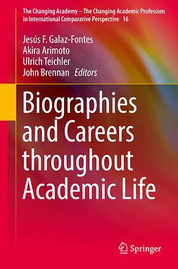 Arimoto, Akira - Biographies and Careers throughout Academic Life, e-bok