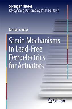 Acosta, Matias - Strain Mechanisms in Lead-Free Ferroelectrics for Actuators, ebook