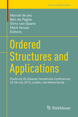 Gaans, Onno van - Ordered Structures and Applications, e-bok