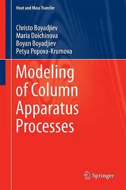 Boyadjiev, Boyan - Modeling of Column Apparatus Processes, ebook