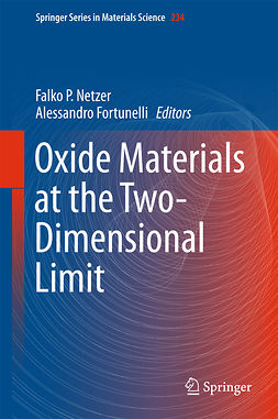 Fortunelli, Alessandro - Oxide Materials at the Two-Dimensional Limit, e-bok