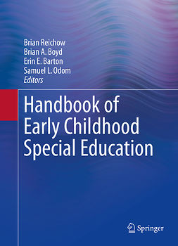 Barton, Erin E. - Handbook of Early Childhood Special Education, e-kirja