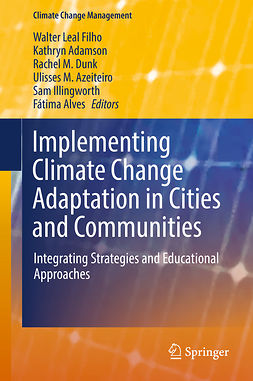 Adamson, Kathryn - Implementing Climate Change Adaptation in Cities and Communities, e-bok