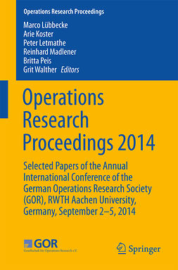 Koster, Arie - Operations Research Proceedings 2014, e-kirja