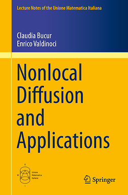 Bucur, Claudia - Nonlocal Diffusion and Applications, ebook