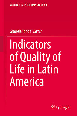 Tonon, Graciela - Indicators of Quality of Life in Latin America, ebook