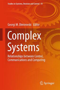 Dimirovski, Georgi M. - Complex Systems, e-kirja