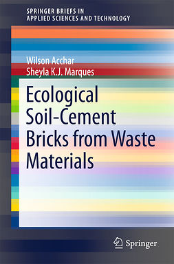 Acchar, Wilson - Ecological Soil-Cement Bricks from Waste Materials, ebook