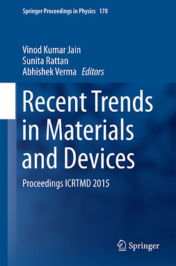Jain, Vinod Kumar - Recent Trends in Materials and Devices, e-bok