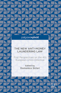 Siclari, Domenico - The New Anti-Money Laundering Law, ebook