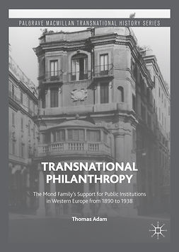 Adam, Thomas - Transnational Philanthropy, ebook