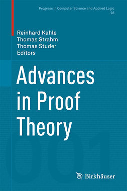 Kahle, Reinhard - Advances in Proof Theory, ebook
