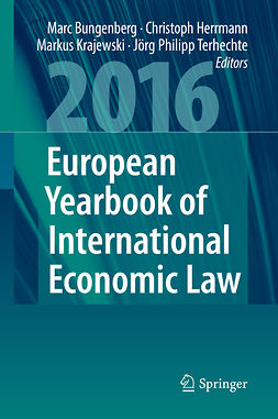 Bungenberg, Marc - European Yearbook of International Economic Law 2016, e-kirja
