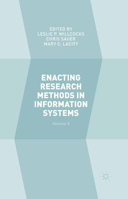 Lacity, Mary C. - Enacting Research Methods in Information Systems, ebook