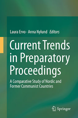 Ervo, Laura - Current Trends in Preparatory Proceedings, ebook
