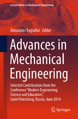 Evgrafov, Alexander - Advances in Mechanical Engineering, ebook