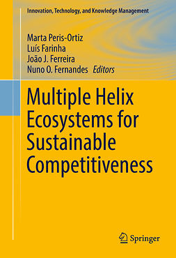 Farinha, Luís - Multiple Helix Ecosystems for Sustainable Competitiveness, e-bok