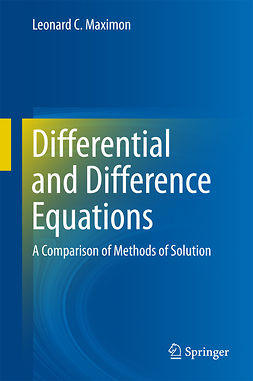 Maximon, Leonard C. - Differential and Difference Equations, ebook