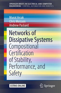 Arcak, Murat - Networks of Dissipative Systems, ebook