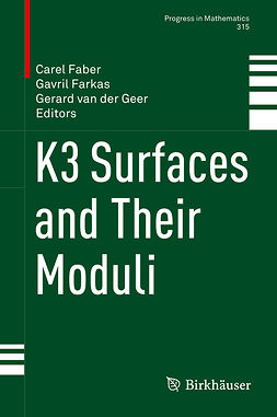 Faber, Carel - K3 Surfaces and Their Moduli, ebook