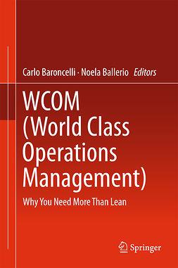 Ballerio, Noela - WCOM (World Class Operations Management), e-bok