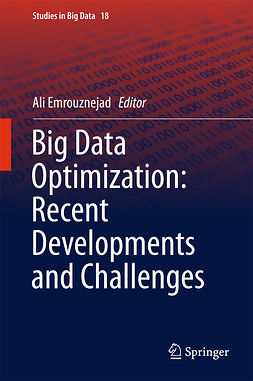 Emrouznejad, Ali - Big Data Optimization: Recent Developments and Challenges, ebook