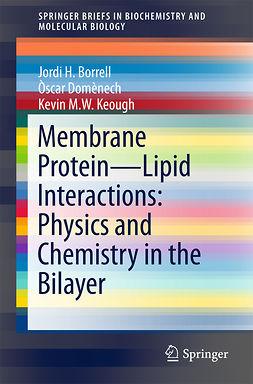 Borrell, Jordi H. - Membrane Protein – Lipid Interactions: Physics and Chemistry in the Bilayer, e-bok