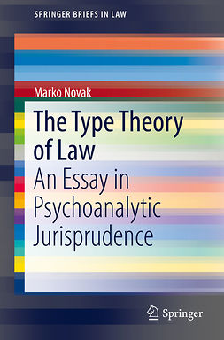 Novak, Marko - The Type Theory of Law, ebook