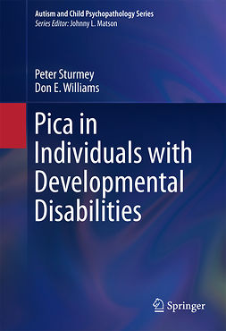 Sturmey, Peter - Pica in Individuals with Developmental Disabilities, e-bok