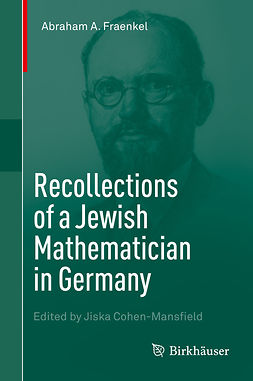 Cohen-Mansfield, Jiska - Recollections of a Jewish Mathematician in Germany, e-bok
