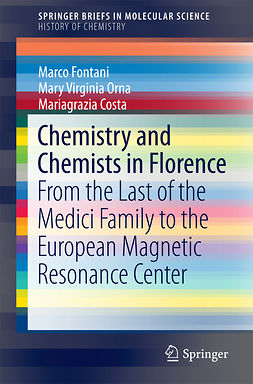 Costa, Mariagrazia - Chemistry and Chemists in Florence, e-bok