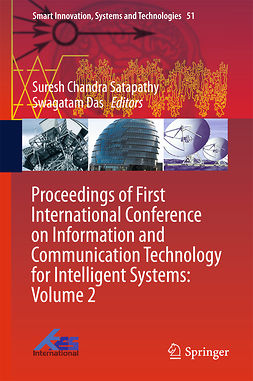 Das, Swagatam - Proceedings of First International Conference on Information and Communication Technology for Intelligent Systems: Volume 2, ebook