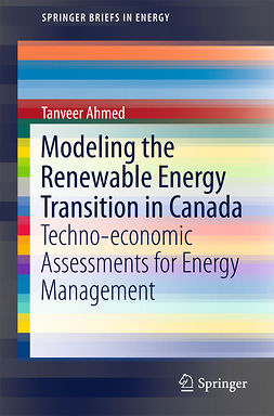 Ahmed, Tanveer - Modeling the Renewable Energy Transition in Canada, ebook
