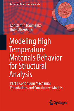 Altenbach, Holm - Modeling High Temperature Materials Behavior for Structural Analysis, ebook