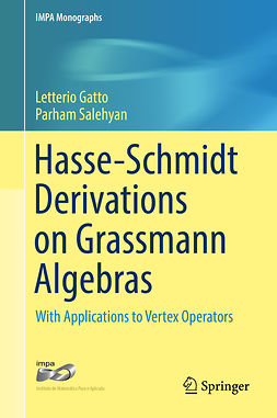 Gatto, Letterio - Hasse-Schmidt Derivations on Grassmann Algebras, ebook