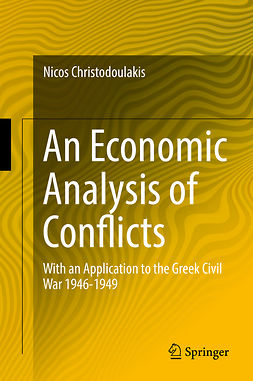 Christodoulakis, Nicos - An Economic Analysis of Conflicts, ebook