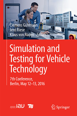 Gühmann, Clemens - Simulation and Testing for Vehicle Technology, e-kirja