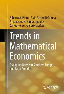 Gamba, Elvio Accinelli - Trends in Mathematical Economics, e-bok