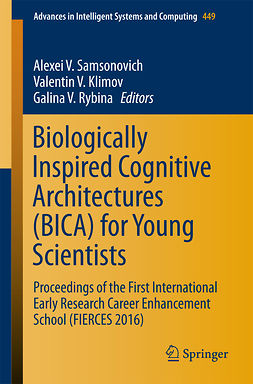 Klimov, Valentin V. - Biologically Inspired Cognitive Architectures (BICA) for Young Scientists, ebook
