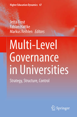 Frost, Jetta - Multi-Level Governance in Universities, ebook