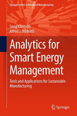 Hildreth, Alfred J. - Analytics for Smart Energy Management, ebook