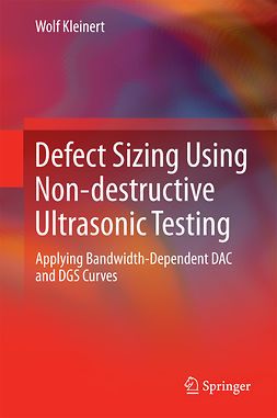 Kleinert, Wolf - Defect Sizing Using Non-destructive Ultrasonic Testing, ebook